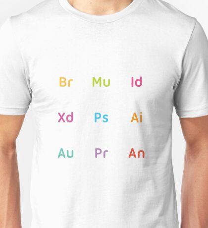 Adobe CC Letters Unisex T-Shirt