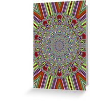 Multi Color Greeting Card