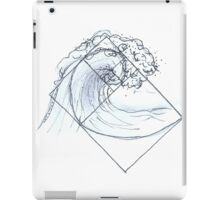 fibonacci wave iPad Case/Skin