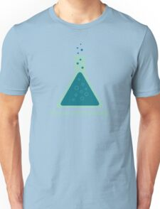 You're Overreacting Chemistry Science Beaker Unisex T-Shirt