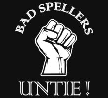 Bad Spellers Untie One Piece - Short Sleeve