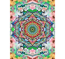 Mandala HD 2 Photographic Print