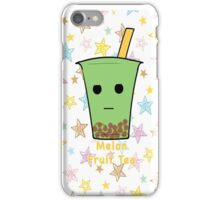 Melon Fruit Tea iPhone Case/Skin