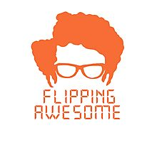 Flipping Awesome Photographic Print