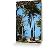 Pathway to Wonga Beach, North Queensland  Greeting Card