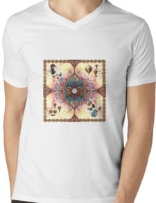 Essence Of India Mens V-Neck T-Shirt
