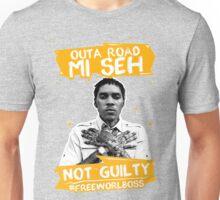 Out A Road #FREEWORLBOSS YELLOW Unisex T-Shirt