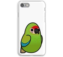 Too Many Birds! - Military Macaw iPhone Case/Skin