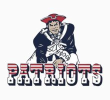 New England Patriot Old Kids Tee