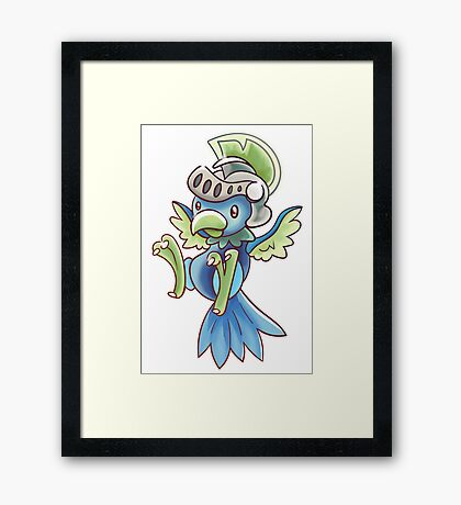 NICOMON Framed Print