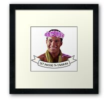 Set Phasers to STUNNING Framed Print