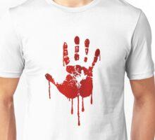 Blood hand Unisex T-Shirt