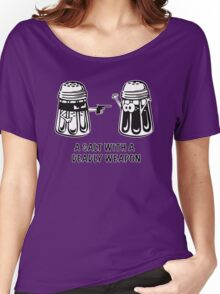A Salt With A Deadly Weapon Women's Relaxed Fit T-Shirt