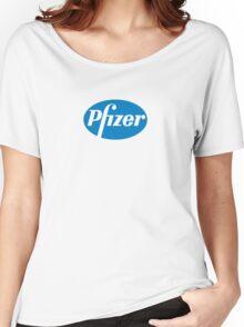 Pfizer Xanax Bars logo Zone 2mg Benzo Women's Relaxed Fit T-Shirt