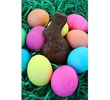 Bunny & Eggs Photographic Print