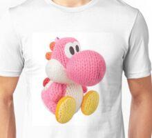Pink Yarn Yoshi Unisex T-Shirt