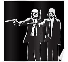 Pulp Fiction-Darth & Boba Hit Men Poster