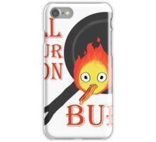 Bacon Burning iPhone Case/Skin