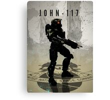 Heroes of Gaming - John 117 Canvas Print