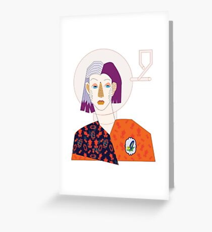 Who I am. Greeting Card