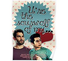 You're the Sour Wolf of my Heart Poster