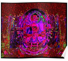 RED LACE (BUDDHA Series Var.) Poster