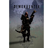 Legends of Gaming - Demon Hunter Photographic Print