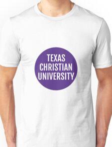 Texas Christian University Unisex T-Shirt