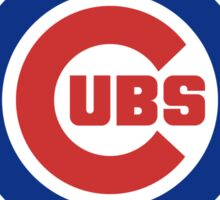 Cubs Emblem Sticker