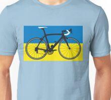 Bike Flag Ukraine (Big - Highlight) Unisex T-Shirt