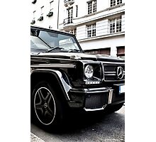Mercedes G-Class Photographic Print