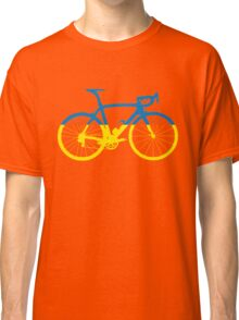 Bike Flag Ukraine (Big) Classic T-Shirt