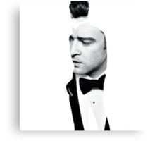 Justin Timberlake Double Exposure Canvas Print