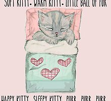 Soft kitty by lilliesandroses