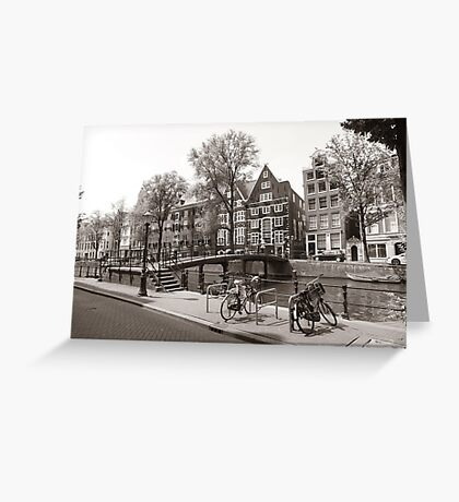Lonely Bicycles Greeting Card