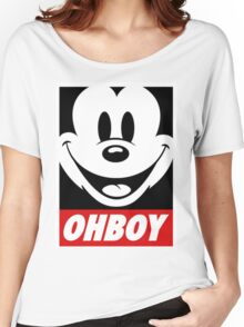 OhBoy Women's Relaxed Fit T-Shirt