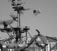 Navy Chopper Sticker