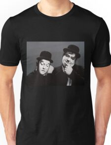 Laurel and Hardy Painting Unisex T-Shirt