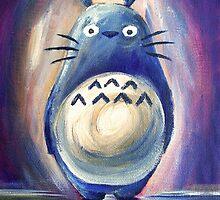 Totoro by Katie Clark