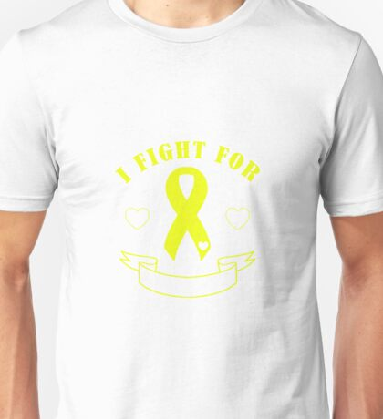 Fight For [Blank Banner] - Yellow Unisex T-Shirt