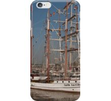 Loth lorien docked at the tall ships festival iPhone Case/Skin