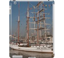 Loth lorien docked at the tall ships festival iPad Case/Skin