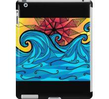 Aztec sun waves iPad Case/Skin
