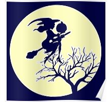 HALLOWEEN - MOONLIGHT WITCH Poster