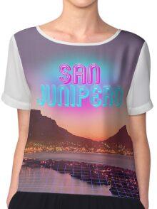 San Junipero - Black Mirror Chiffon Top