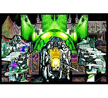 PSYCHEDELIC POWER PLANT TWINS Photographic Print