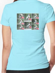 IT'S TIME TO START LOOKING GOOD-LOTS OF NEW LADIES Women's Fitted V-Neck T-Shirt
