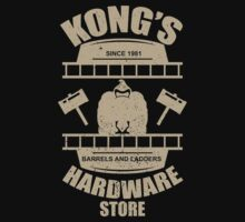 Kong's Hardware Store One Piece - Short Sleeve