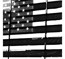 QB Flag (b side) Photographic Print