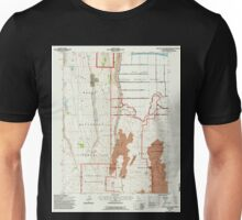 USGS TOPO Map California CA Captain Jacks Stronghold 100031 1993 24000 geo Unisex T-Shirt